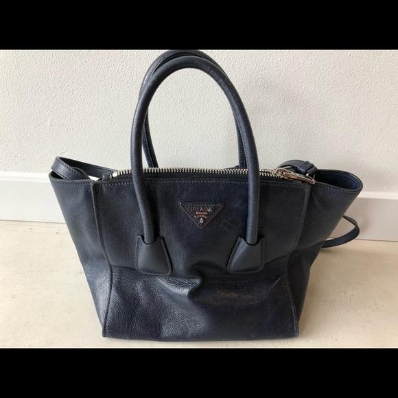 4104c97ffffe Prada leather satchel. M_5ae627973800c57833a490e8